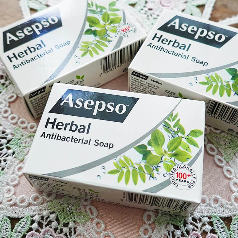 Asepso抗菌消毒石鹸